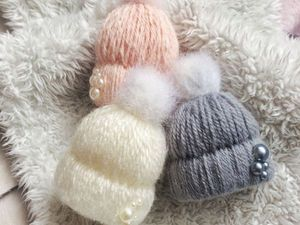 Делаем очаровательную брошку-шапочку | Ярмарка Мастеров - ручная работа, handmade
