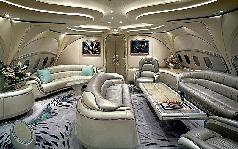 privatejets03 Роскошные частные самолеты сильных мира сего