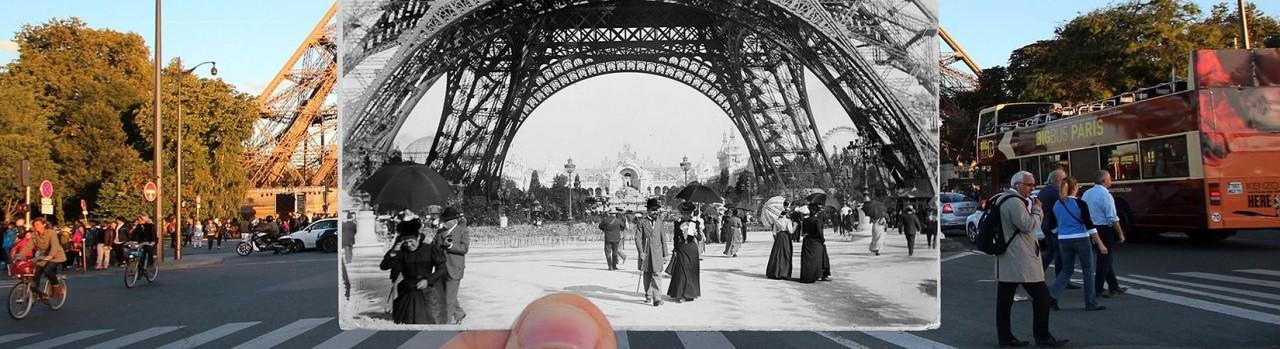 Как Париж изменился за 100 лет  (без ЖЖ- жёлтых жилетов)