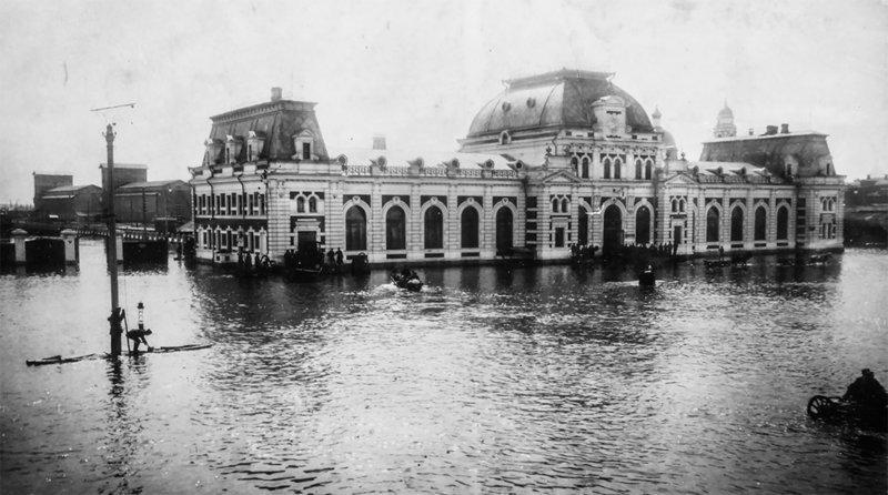 Она утонула: 110 лет с Великого Московского наводнения 1908, Москова, наводнение, фоторепортаж