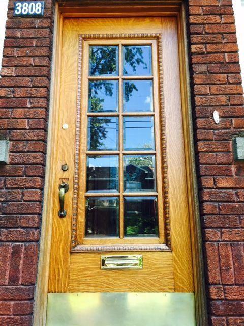 Как отреставрировать деревянную старую дверь своими руками