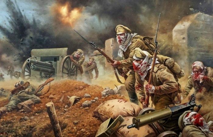 """""""Атака мертвецов"""".  Как 60 погибающих русских солдат победили 7000 немцев."""