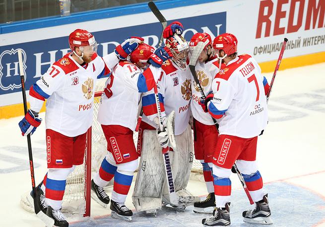 Российские хоккеисты заняли второе место на Кубке Первого канала