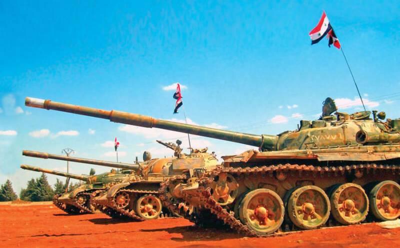 Военная обстановка в Сирии: «Умеренные» атаковали базу бронетанковых войск САА