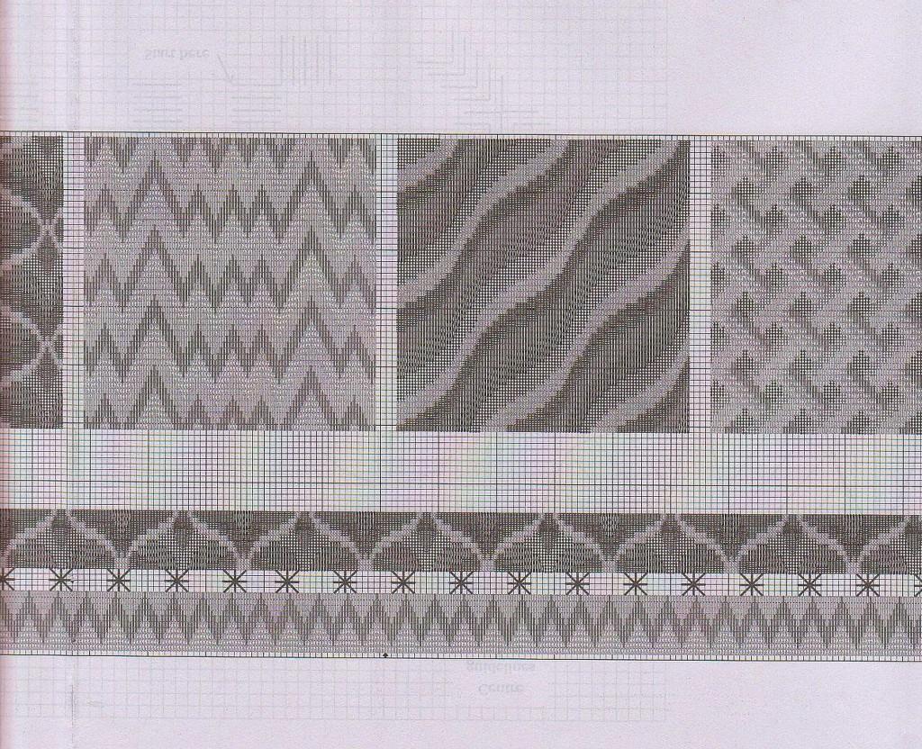 Вышивка в стиле барджелло схемы 96