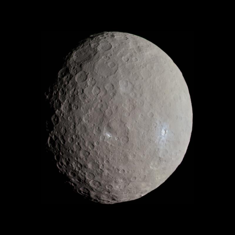 Церера – житница пояса астерожья