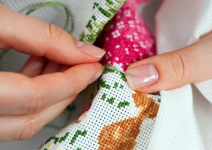 Азы крестиков в вышивке