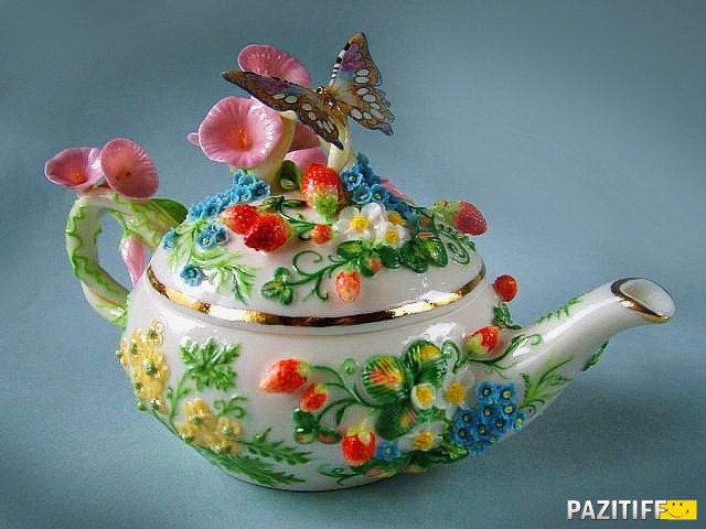Всегда в цвету... Фарфоровое чудо Светланы Орешкиной