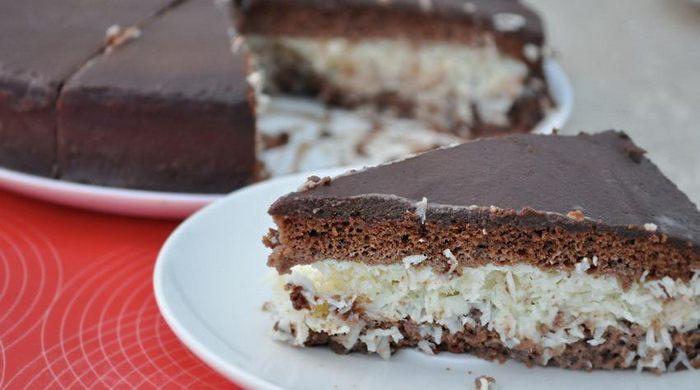 Вкуснейший Баунти-торт без выпечки