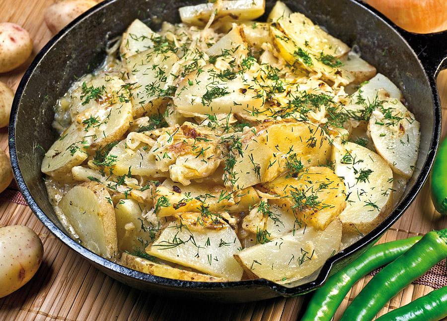 Идеальный картофель с луком