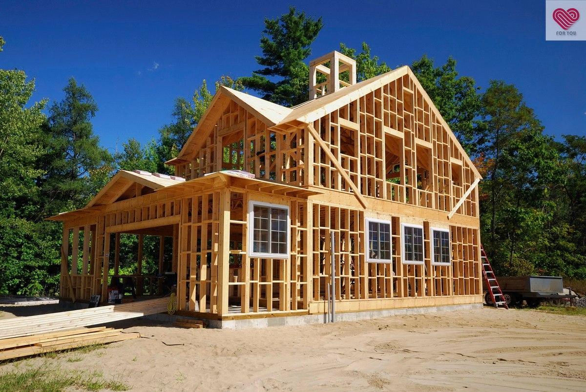 Деревянные дома проекты своими руками