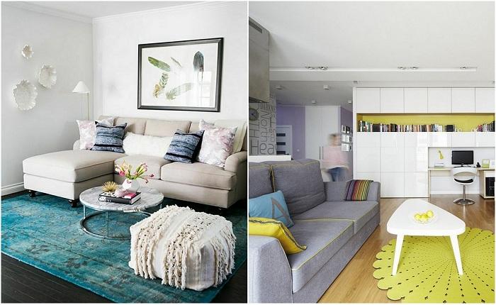 Идеи вашего дома: Впечатляющие интерьеры: интересные идеи по обустройству маленькой гостиной