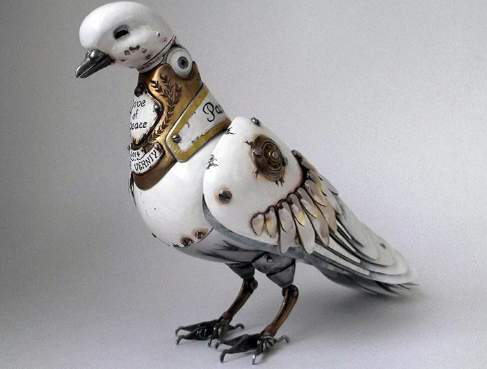 Стимпанк от скульптора Игоря Верного