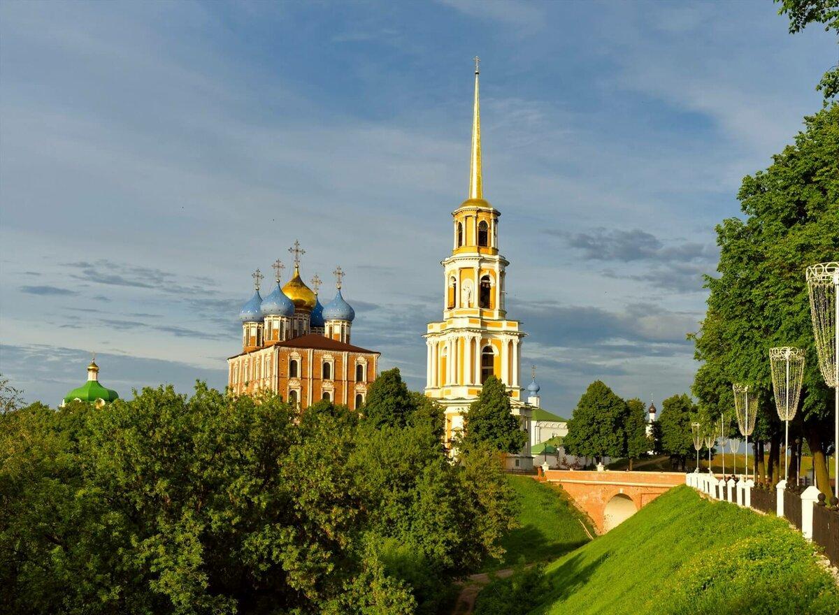 Соборный парк Рязанского Кремля