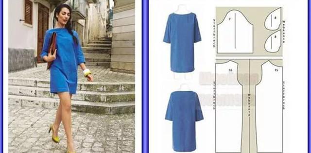 Как сшить платье свободный крой 91