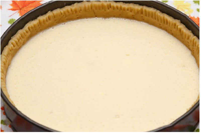 яблочный пирог со сметанной заливкой очень вкусный