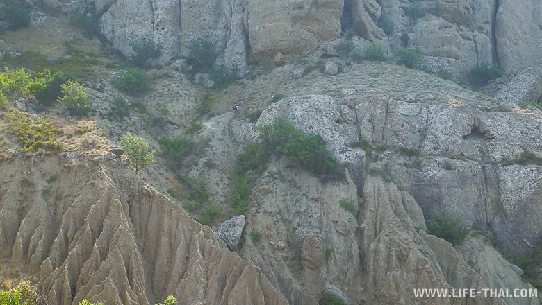 Мыс Меганом, Крым