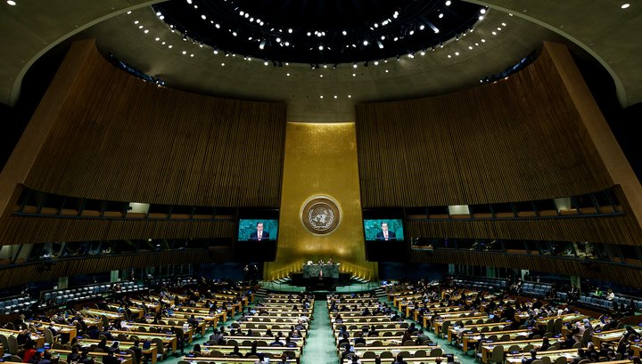 Вопрос на засыпку: кто был против?: Генассамблея ООН приняла российскую резолюцию против нацизма