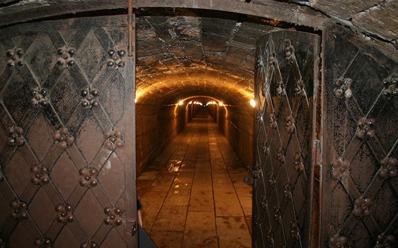 Подземелья Гатчинского дворца Санкт - Петербург, подземные ходы