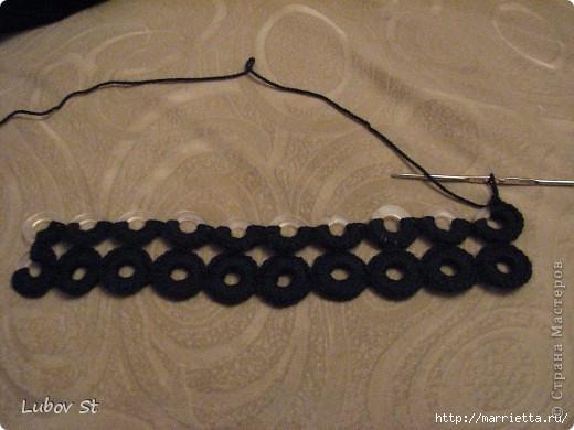 Сумочка из колец с бисером. Вязание крючком без отрыва ниток (7) (520x390, 118Kb)