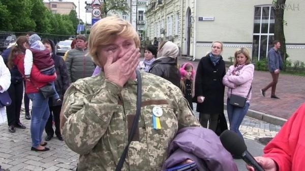 Матери погибших на Восточном фронте атошников: Киев отказался платить за погибших