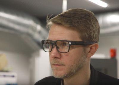 Intel показала умные очки Vaunt. Они похожи на обычные