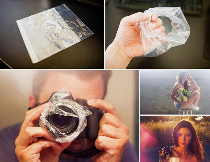 как сделать фотографию туманной