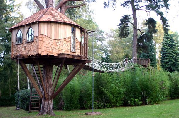 Домик на дереве, о котором вы мечтали в детстве