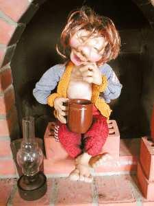 Учимся делать игрушки...Кукла своими руками