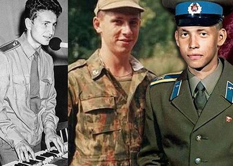 Российские знаменитости, которые служили в армии