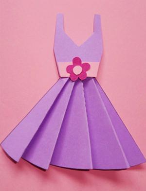 Как сделать маме платье