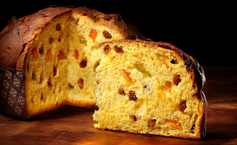 Традиционный миланский кекс «Панеттоне» с засахаренными фруктами - быстрый рецепт