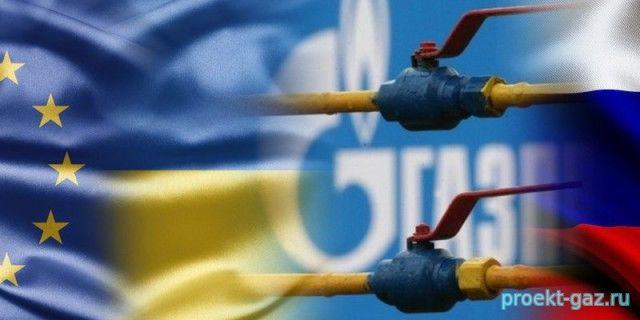 """Украинский транзит газа """"Газпрома"""" бьет рекорды"""