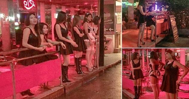Вот почему все обитательницы квартала красных фонарей Таиланда надели черное...
