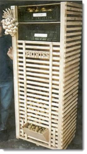 Функциональный ящик для хранения картофеля и овощей