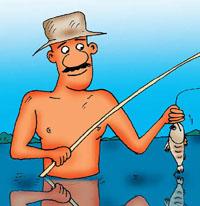 Рыбалка «на сковородке»