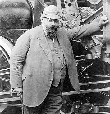 Юрий Ломоносов: человек и золотой паровоз