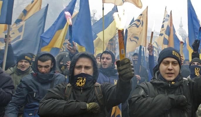 Украинские националисты гото…