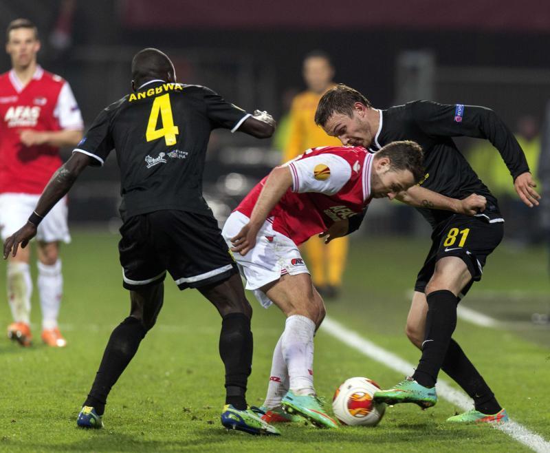 «Анжи» в Раменском сыграл вничью с «Алкмаром» и вылетел из Лиги Европы