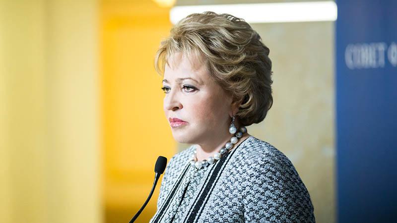 Матвиенко: незаконные митинги надо пресекать