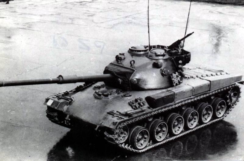 Средний танк Panzer 61 (Швейцария)