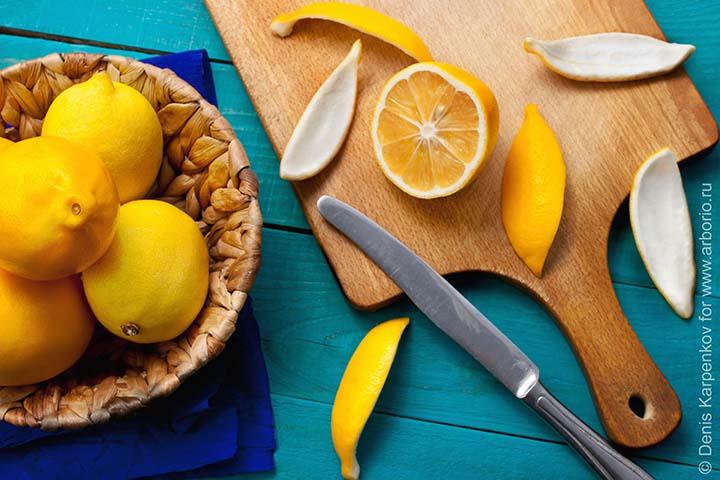 Цедра лимонная апельсиновая. Рецепты её применения