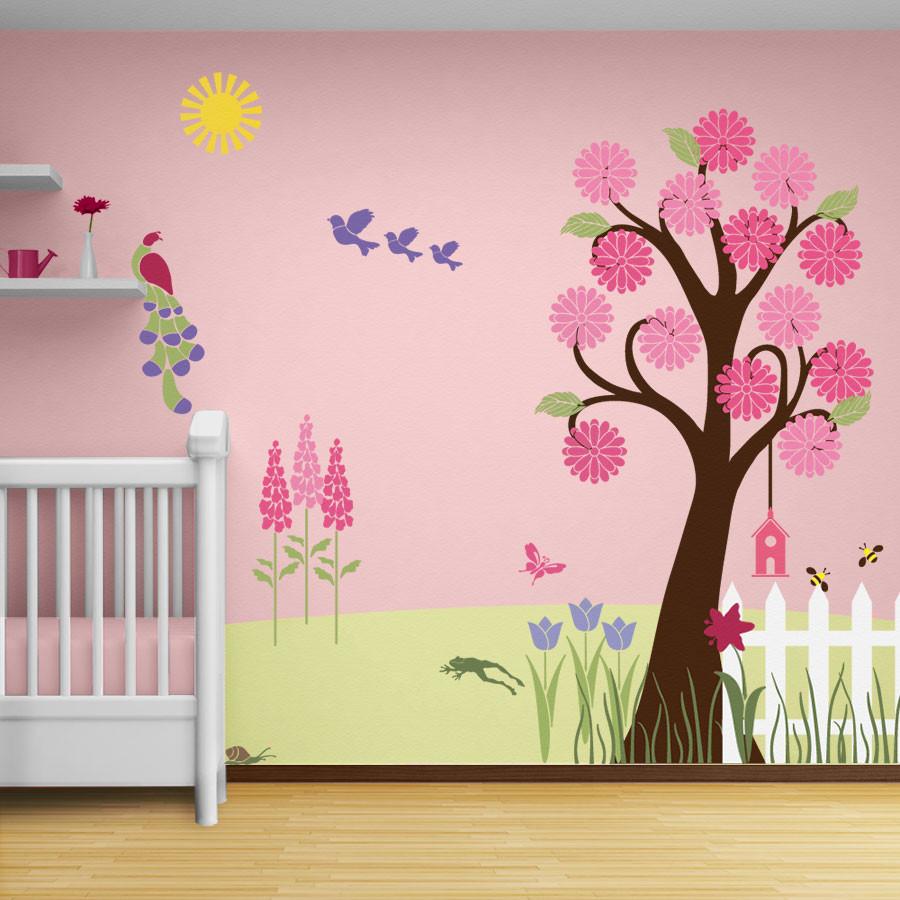 Трафареты для стен под покраску своими руками в садик 45