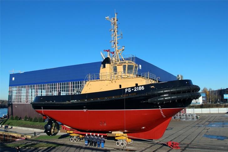 «Пелла» спустила на воду буксир РБ-2186