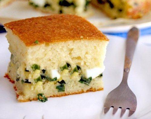 Как приготовить быстро вкуснейший пирог с яйцами и луком