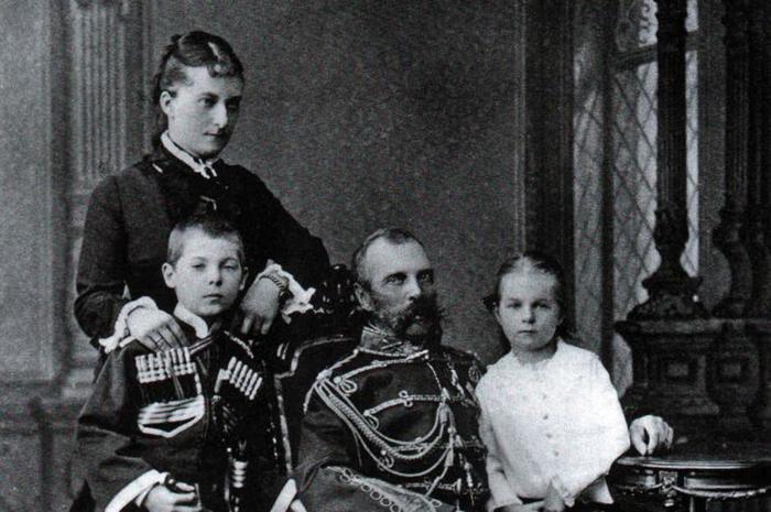 Екатерина Долгорукова, Александр ІІ и дети