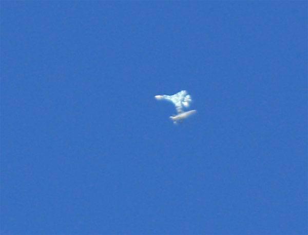Су-27 над Невадой имитировал воздушный бой с F-16?