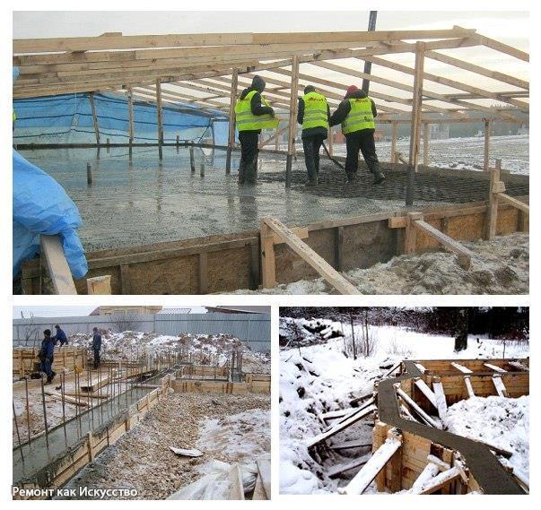 Какие строительные работы стоит проводить в зимнее время