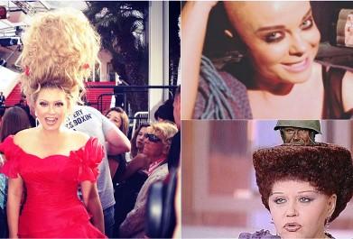 Что курил парикмахер, что эти российские селебретис таскают на голове нечто невероятное?