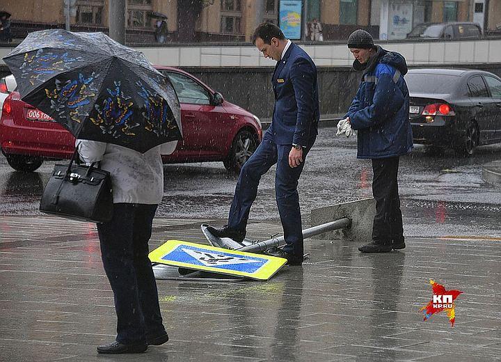 К концу недели в Москву придут ливни и шквалистый ветер